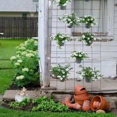 my yard outdoor decor, curb appeal, flowers, gardening, hydrangea, outdoor living, repurposing upcycling