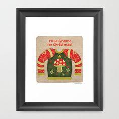 'Gnome for Christmas' by Michelle Schwartzbauer Design, LLC www.mschdesign.com