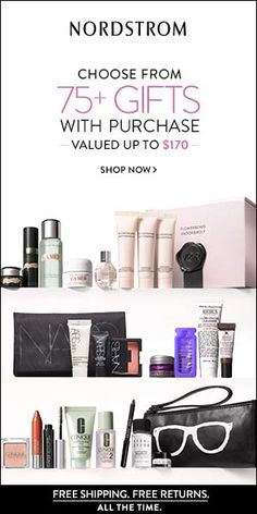 Did someone say @Nordstrom Triple Rewards Points this week???  Click thru for great #beauty gwps  posted via @polarbelle @polarbelle123