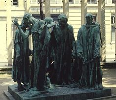 Burghers Of Calais - 1884-89. By August Rodin.