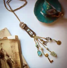 A personal favourite from my Etsy shop https://www.etsy.com/au/listing/498850810/aquamarine-vintage-pendant