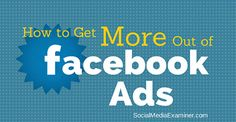 With each update to Facebook, it becomes increasingly harder for small businesses to make a splash in front of their intended audience.  Here are four marketing tactics you can use to get more out of your Facebook advertising.