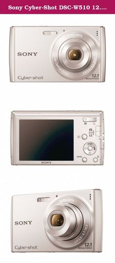 Sony Cyber-Shot DSC-W510 12.1 MP Digital Still Camera with 4x Wide-Angle Optical Zoom Lens and 2.7-inch LCD (Silver). SONDSCW510 W510 Cyber-shot Digital Camera, 12.1MP, 4x Optical Zoom This camera features face and smile detection technology to help you get the best shots possible. A one-touch sweeping panorama mode for photos and video allows you to capture landscapes and action. The Intelligent auto-mode optimizes camera settings.