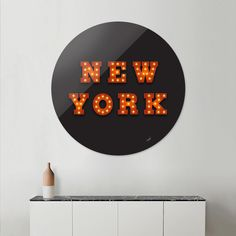 Discover «NY», Limited Edition Disk Print by Wim Sarsunan - From $65 - Curioos