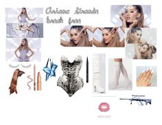 """""""Ariana Grande Break Free inspired outfit"""" by nicola-kashket ❤ liked on Polyvore"""