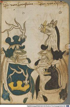 Ortenburger Wappenbuch Bayern, 1466 - 1473 Cod.icon. 308 u  Folio 50r