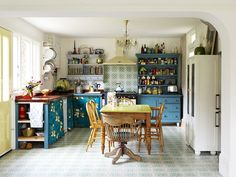 An eclectic cottage