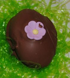 Decorating For Easter Time,Here's a recipe for homemade delicious dark chocolate buttercream Easter eggs.