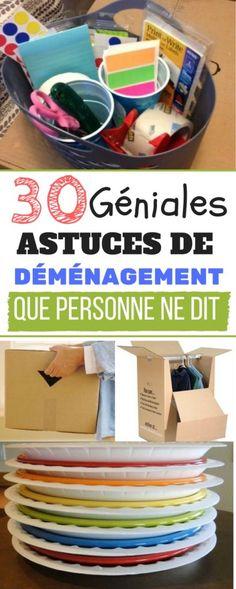 30 ASTUCES DE DEMENAGEMENT