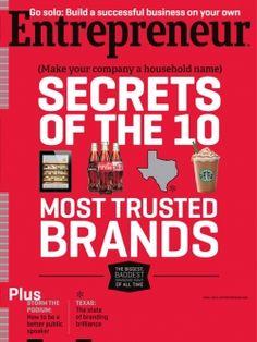 Entrepreneur: Secrets of the 10 Most Trusted Brands