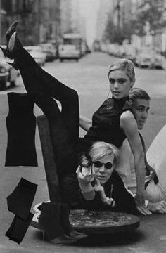 "Andy Warhol, Edie Sedgewick...Edie Was, Perhaps, Warhol's True ""Muse""--He Helped Turn Sedgewick Into A Famous Model & She, Likewise, Inspired Him With Her Style & Attitude...Never Romantically Involved, Their ""Union of Brilliance"" Was A Thing of Great Beauty..."