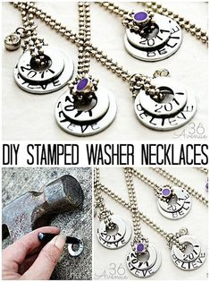Here are the prettiest necklaces that you can make from your own home. These jewelry DIY tutorials will show you how to easily make these beautiful necklaces.