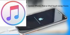 Update your iPhone, iPad using tips on How to download iOS using iTunes then install in Device On Poor or without Wi Fi connection near to you