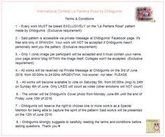 Terms & Conditiones ♥ International Contest La Pantera Rosa by Chibigumis ♥