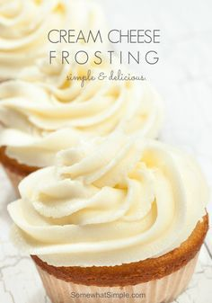 Delicious and Easy Cream Cheese Frosting Recipe by Somewhat Simple
