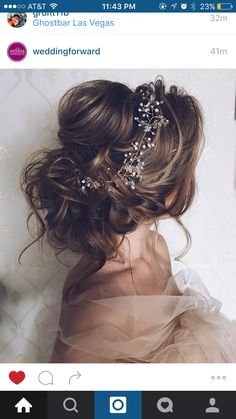Future wedding hair style idea!