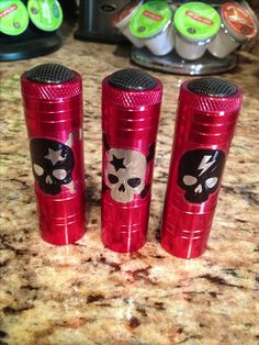 Fish Extender gift for boys or teens. Flashlight with Mickey or Pirate stickers.