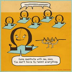 A good pun is hard to resist...  from Unearthed Comics: http://unearthedcomics.com/comics/ohm/