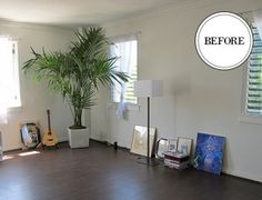 When our goop guy, Kevin Keating, moved into a gorgeous and light-filled apartment in West Hollywood after several years in London, he found himself drawing a blank on how to even begin decorating it—to the extent that he furnished it with only a bed and a yoga mat for two months. Ultimately, Kevin had abandoned all of his disposable, post-college furniture in England since it wasn't worthy of on goop.com. http://goop.com/a-small-space-makeover/
