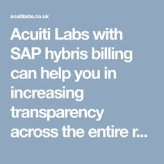 Acuiti Labs - UK based Digital Transformation Company, proud SAP Silver Partner and one of the best Technology & Business Consulting firm in London. Revenue Management, Consulting Firms, Labs, Digital, Business, Lab, Store, Business Illustration, Labradors