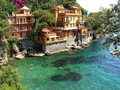 Portofino, Italy, most expensive place outside of Rome. Did you know most resto charges for linen and cuttlery?