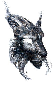Nouveaux Farouchement puissants métalliques animaux Sculptures par Selçuk Yılmaz - Mon moderne Met