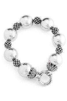 LAGOS Bold Caviar Sterling Silver Wow Bracelet