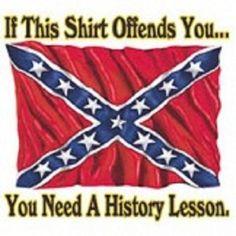 Confederate Flag Unisex TShirt by UScustomInk on Etsy, $10.99