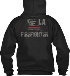 Louisiana Firefighter Thin Red Line Hoodie  Wear your LA Firefighter pride and show your support for the Louisiana Thin Red Line.  * Official Thin Line Style Apparel, printed in The USA * 50% Cotton, 50% Polyester * Double-needle stitching for durability, double-lined hood, pill-resistant air jet yarn * Machine Wash Warm, Tumble Dry Low. Do not bleach.
