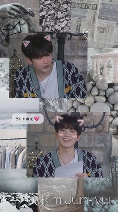 Wallpaper of Kim Junkyu from Yg Trainee, Aesthetic Lockscreens, Baby Koala, Treasure Boxes, New Love, Yoshi, Aesthetic Wallpapers, Boy Bands, Boy Groups
