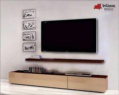 Centro de Entretenimiento Modelo BISKRA - InCassa Muebles - Fabricante de muebles a bajo costo