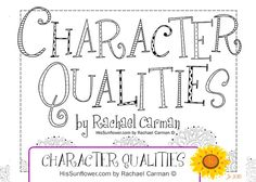 Are you teaching character in your homeschool? I struggled to find a list that really worked for my family. I found several lists of character qualities, but they did not have definitions that my boys could understand. They needed simple, clear explanations. Further, I wanted to have Scripture as the anchor for each quality as well as a Bible character who demonstrated that particular quality in their lives. So I do what homeschool moms do- I made my own! And I'm sharing them with you!