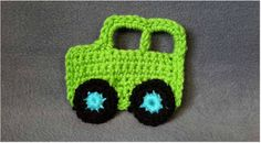 Give your project a wow factor with these great crochet appliques. Tutorial