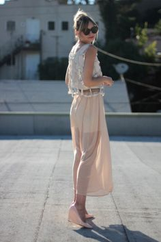 pink and chiffon and sparkle, via theglitterguide