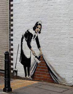 52 Ideas photography street art illusions for 2019 Banksy Graffiti, Bansky, Banksy Artwork, Illusion Kunst, Illusion Art, 3d Street Art, Cute Couple Art, Unusual Art, Outdoor Photography