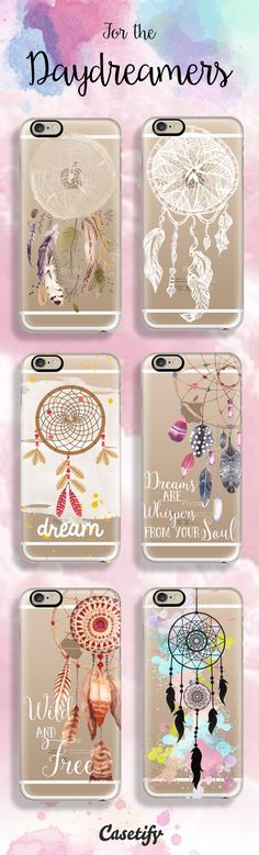 Dream without Fear and Love without Limits. Shop these dreamy dreamcatchers phone cases here: http://www.casetify.com/artworks/VIJDPjbzXP | @casetify