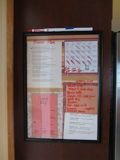 Controlling Craziness: Meal Planning