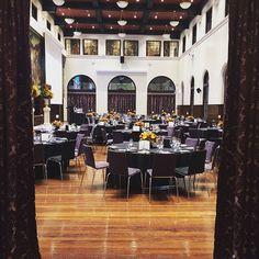 Last night's Masters of Professional Accounting Graduation Dinner setup #HostCo #Sydney #event #heritage #venue