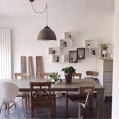 Ihr Braucht Eine Kreative Idee Zur Wandgestaltung? Schaut Mal In Den  Heutigen Artikel Rein 👀🙌🏼⠀via @haidnn #homedeco #homedecode #Esszimmer  #wand ...
