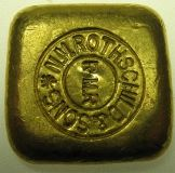 Goldbarren 50 Gramm für Barrensammler Rothschild & Sons