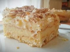 Greek Sweets, Puff Pastry Recipes, Greek Recipes, Apple Pie, Vanilla Cake, Meals, Desserts, Food, Cakes