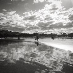 Surfing the Great Ocean Road this long weekend #Anglesea #Victoria #australia #greatoceanroad #visitvictoria #blackandwhite #bw by margaretpaola http://ift.tt/1KosRIg