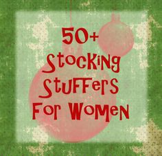 50+ Stocking Stuffer Ideas for Women | thelifeoflulubelle