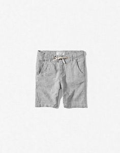 LINEN DRAWSTRING BERMUDAS - Bermuda shorts - Boy (2-14 years) - Kids - ZARA United States