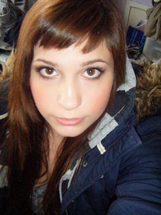 I think I'm going to cut bangs like this.