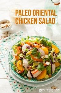 Oriental chicken Salad 4b