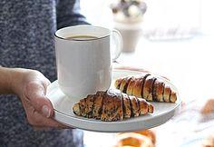 Csokoládés rugelach Glass Of Milk, Food, Essen, Meals, Yemek, Eten
