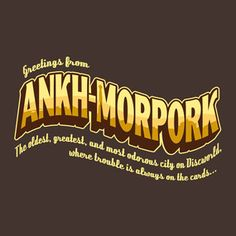 Greetings from Ankh-Morpork
