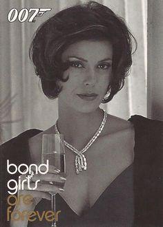 James Bond Quotable - BG25  Teri Hatcher  Bond Girls Chase Card