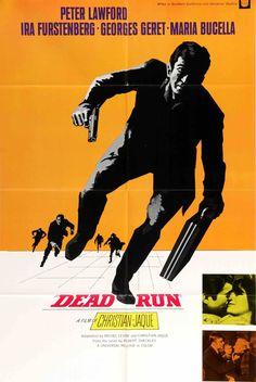 Dead Run (1969) Original One Sheet Movie Poster